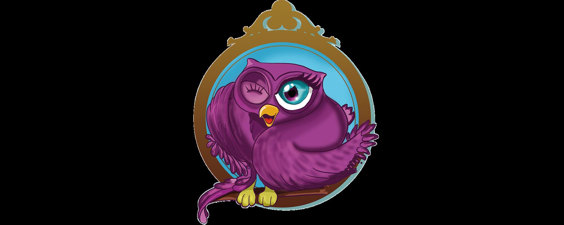 Choupette, the mascot of Les Conta !
