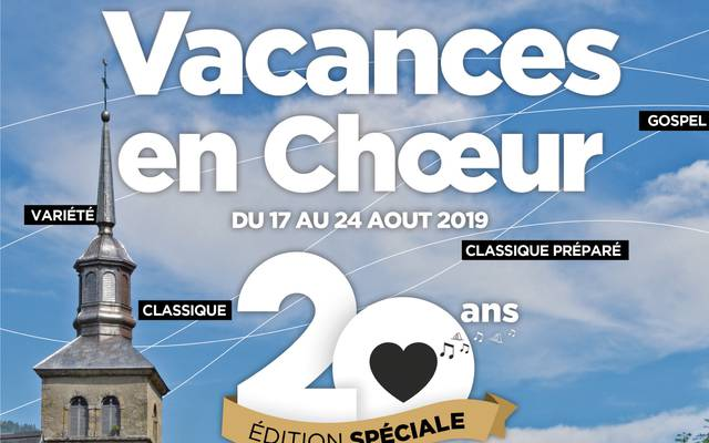 """Semaine de chant choral """"Vacances en choeur"""""""