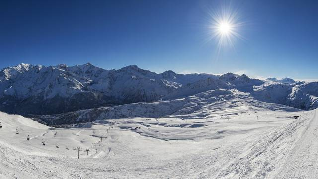 Alpine area
