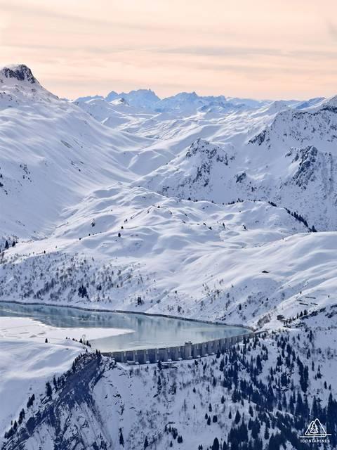 Le barrage de la Girotte