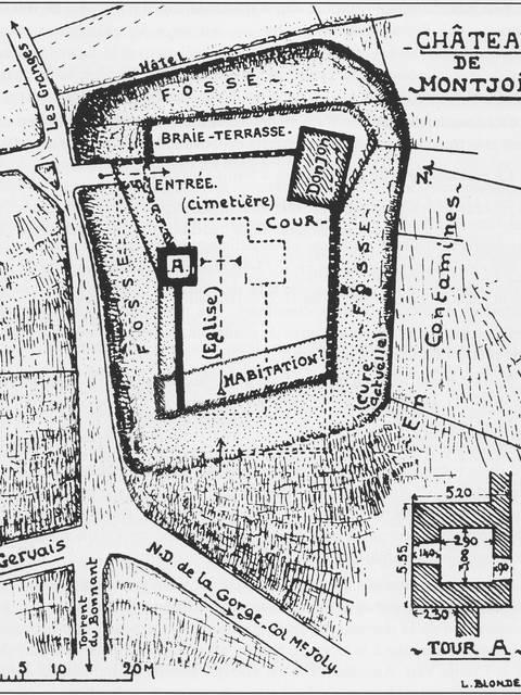 Le château de Montjoie